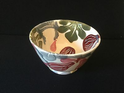 Emma Bridgewater Figs Collectors Club Old Shape Bowl First Quality And New.
