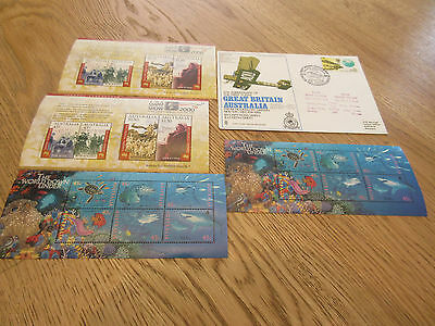 FDC & Stamps MNH Australia The World Down Under The Stamp Show 2000 No 7