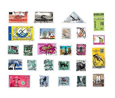 AFRICA STAMPS COLLECTION/ MIXTURE Mixed Countries
