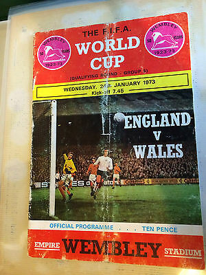 Bobby Moore Personally Signed England Programme