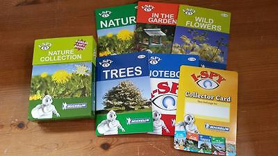 I Spy Box 5 Book Set Nature Collection Trees Wild Flowers The Garden & Notebook