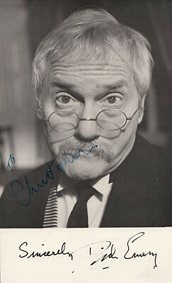 Dick Emery Vintage Hand Signed Photo