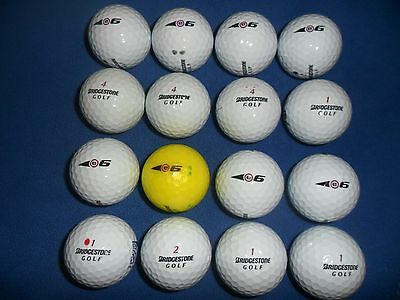 16 X BRIDGESTONE e6 GOLF BALLS IN PEARL GRADE