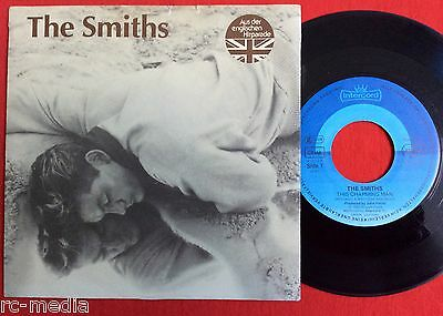 """THE SMITHS -This Charming Man- Rare German 7"""" with Picture sleeve on Intercord"""