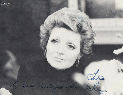Julie McKenzie Miss Marple Agatha Christie TV Actress Hand Signed Photo