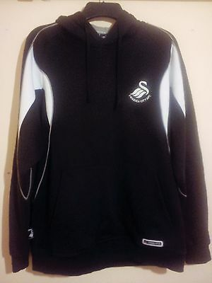 Swansea City Afc Football Club Heavyweight Hoodie Official Merchandise M/l Vgc