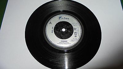 "The Cure - 1 Sided Promo Single - Primary - 7"" - Fiction Records - Rare!"
