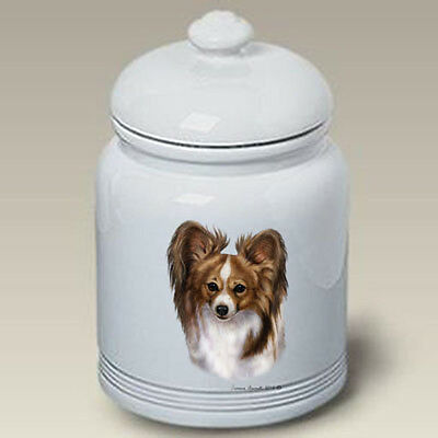 Ceramic Treat Cookie Jar - Sable Papillon (TB) 34319
