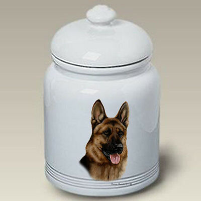 Ceramic Treat Cookie Jar - German Shepherd (TB) 34003