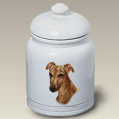Ceramic Treat Cookie Jar - Red Greyhound (TB) 34219