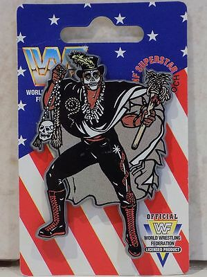 Wwf Papa Shango Pin Badge Brooch New On Card Wwe Wrestling Hasbro Fifgures Wcw