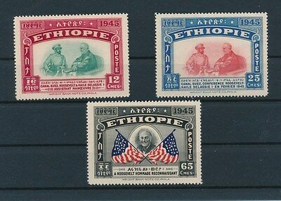[93753] Ethiopia 1947 good set Very Fine MNH stamps