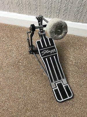 Double Drive Stagg Bass Drum Pedal Single Kick Drum Pedal