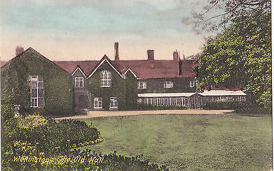Shropshire Postcard WELLINGTON, THE OLD HALL 1906 by Friths