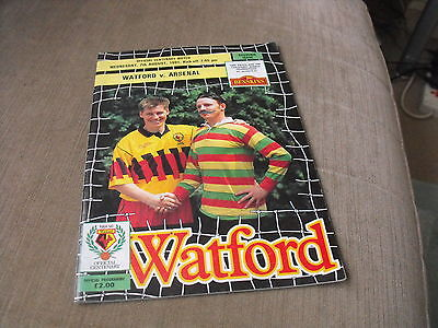 WATFORD v ARSENAL 7/8/91, CENTENARY MATCH