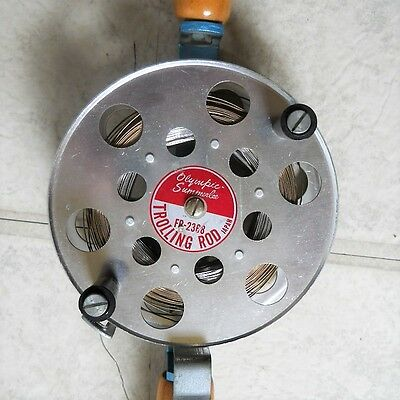 OLYMPIC SUMMERLEE FR-2368 TROLLING ROD REEL.  Excellent Condition.