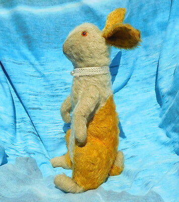 "Antique teddy bear rabbit rare famous Farnell ""Wilfred"" from Pip Squeak 1930"