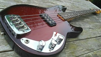 Unique Unusual G&L Bass Guitar L1000 Made By Leo Fender