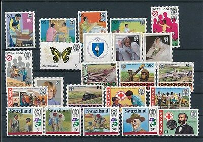 [G94903] Swaziland good lot Very Fine MNH stamps