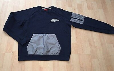 Men's Nike Sweat Shirt Top Jumper Not Hoody M Medium