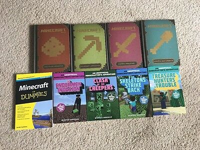 Collection Of Minecraft Books