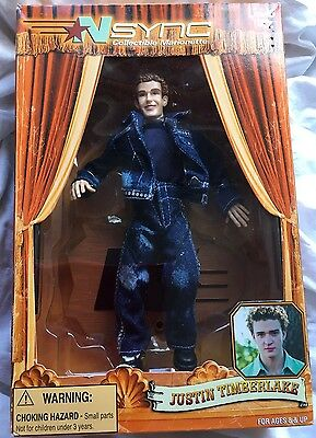 Justin Timberlake NSYNC Collectible Marionette Living Toyz 2000