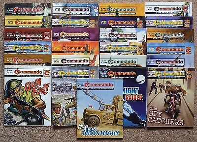 COMMANDO War Picture Library: 25 comics consecutive numbers 4484 to 4508 (2012).