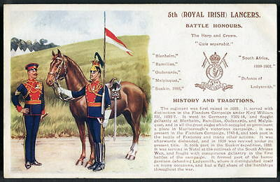 5th (ROYAL IRISH) LANCERS History & Traditions series. Gale & Polden. 1909