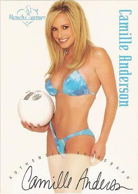 """Benchwarmer 2002 - """"Camille Anderson"""" Auto / Autograph Card"""