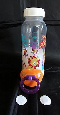 Reborn magnetic baby bottle combo 8 oz Faux Fake milk baby bottle and pacifier