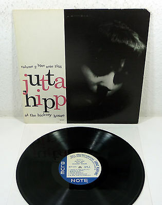 "JUTTA HIPP ""At The Hickory House 2"" US UA Blue Note 1515 Mono Microgroove re LP"
