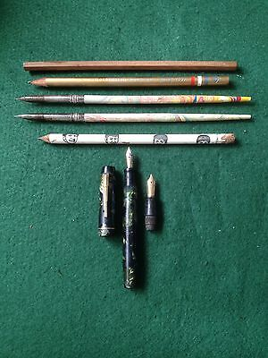 "Wahl Eversharp "" Kingswood "" Fountain Pen And Other Pieces."