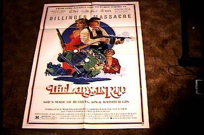 The lady in red Pamela Sue Martin movie poster print