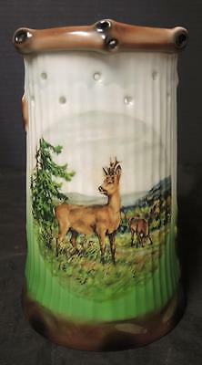 Hard to Find Antique German Lithopane Puzzle Tankard * Nude Lithopane