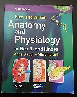 Ross and Wilson Anatomy and Physiology in Health and Illness Book