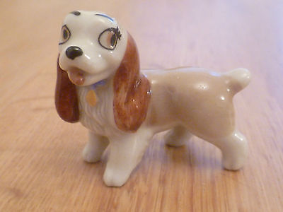 Wade England Hatbox Series Dog Figurine Lady Disney's Lady & The Tramp 1950's