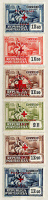 (I.B) Portugal Cinderella : Red Cross Overprint Collection (1929-1936)