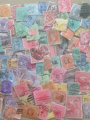 300 Different Australian States Stamp Collection