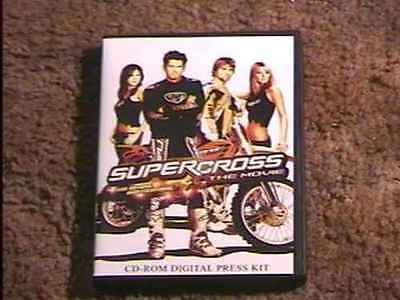 Super Cross Cd-Rom Presskit Biker