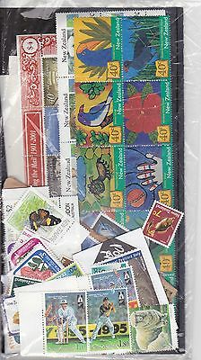 New Zealand Collection.  Mint No Gum Unfranked Stamps.