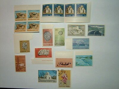 Cyprus Stamps Selection Mnh/vfu