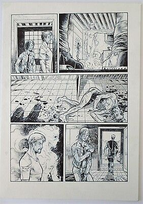 Pagina Original Roger Bonet Original Art Page Comic Brujas The Westwood Witches
