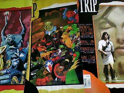 STRIP No.6 (complementary reissue), 7, 8   1990   (Marshall Law)  Marvel UK