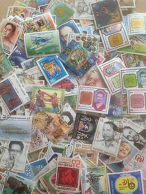 200 Different Bangladesh Stamp Collection - Pictorials/Commemoratives