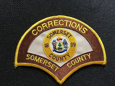 Somerset County Maine Corrections  Shoulder Patch