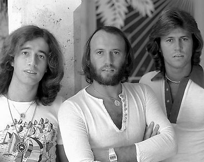 "Bee Gees 10"" x 8"" Photograph no 19"