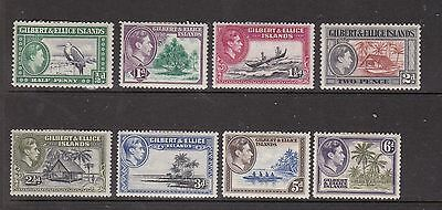 Gilbert And Ellice Islands Collection. George Vi Selection Mint.