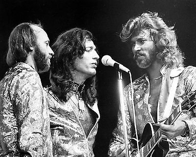 "Bee Gees 10"" x 8"" Photograph no 43"