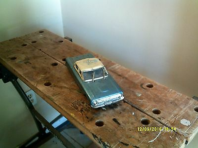 Tin Toys early 1960's Ford Falcon. made in Japan-not perfect
