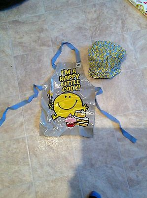 Kids Cooking Apron And Hat